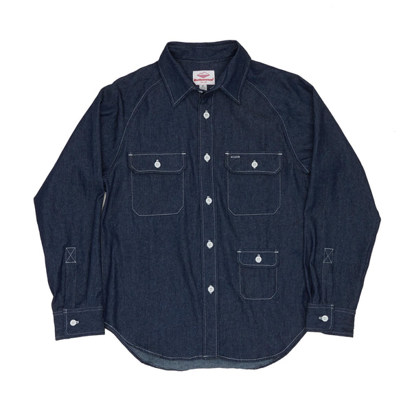 Camp Shirt, Indigo 6.5oz Denim