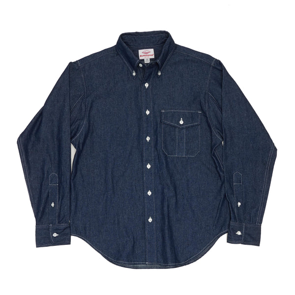 BD Scout Shirt, Indigo 6.5oz Denim