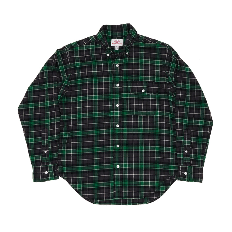 BD Scout Shirt, Green Plaid Flannel