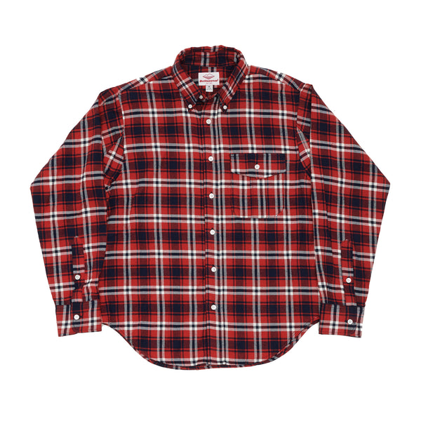 BD Scout Shirt, Red Plaid Flannel