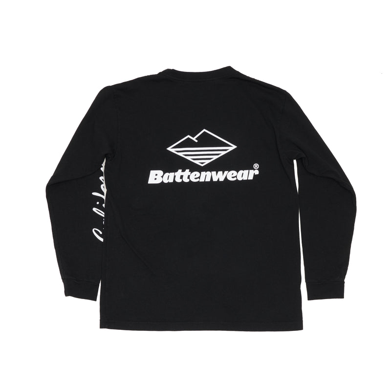 CA L/S Basic Pocket Tee (FW19), Black