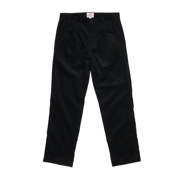 Dock Pants, Black 8-Wale Corduroy