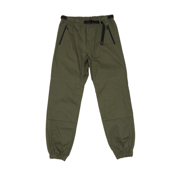 Bouldering Pants, Army Green Herringbone