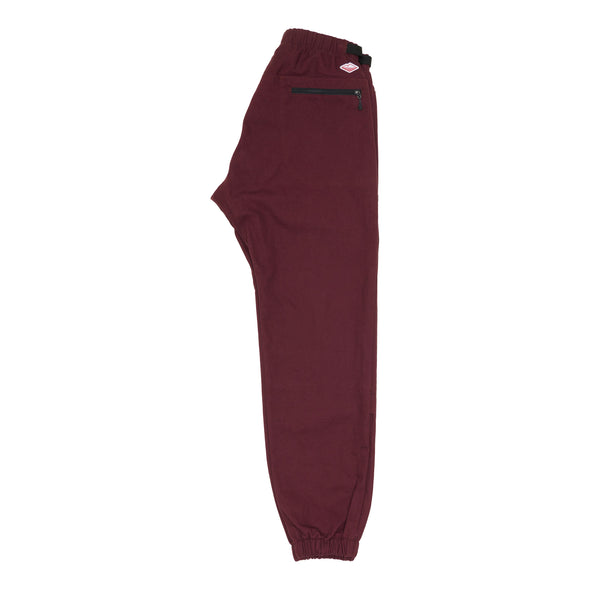 Bouldering Pants, Burgundy Duck Canvas