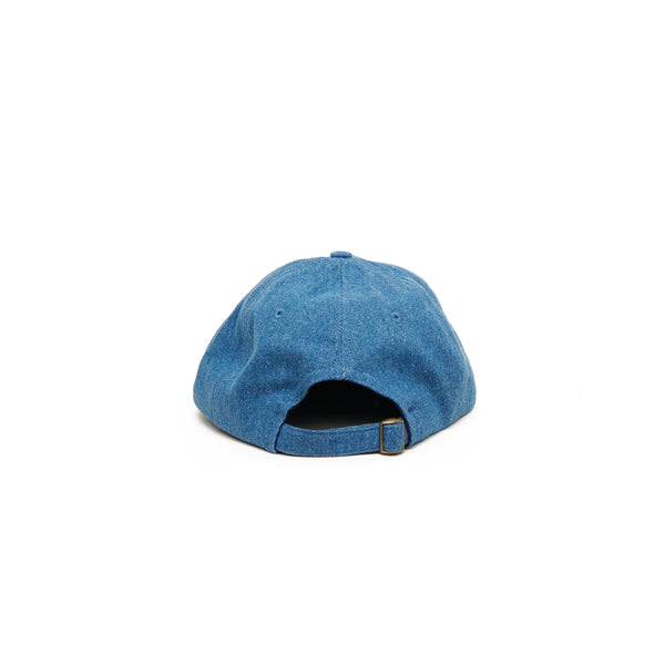 Field Cap, Medium Blue Jean Brushed Denim
