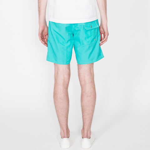 Board Shorts, Turquoise/Purple