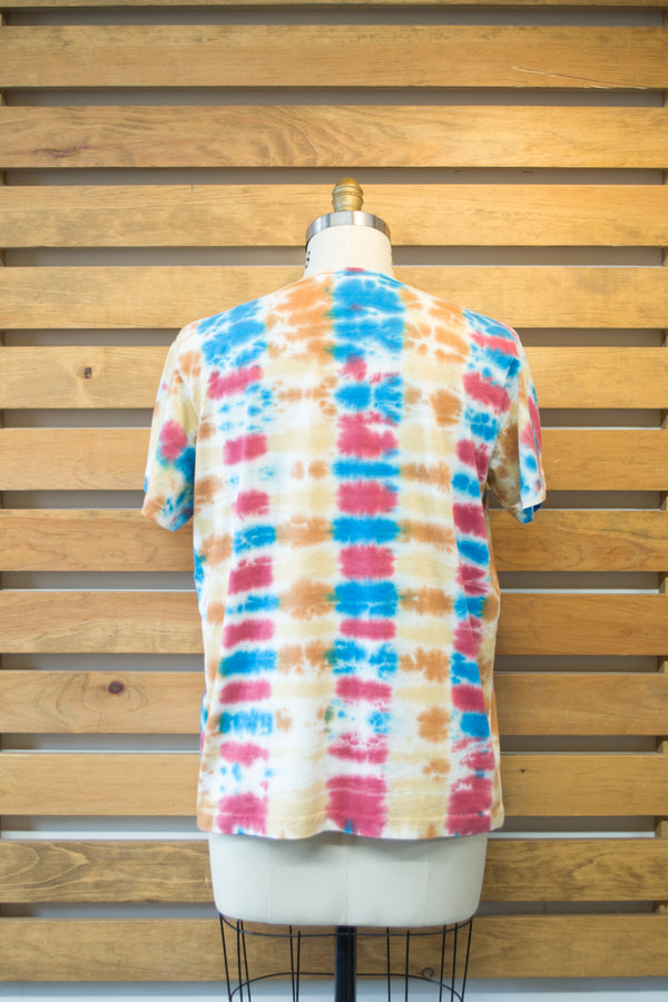 Soggy S/S Pocket Tee, Parallel Tie Dye