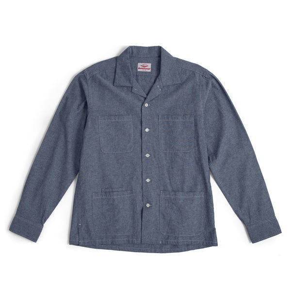 Five Pocket Canyon Shirt, Indigo