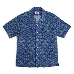 Five Pocket Island Shirt, Blue Print