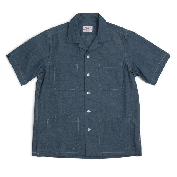 Five Pocket Island Shirt, Indigo