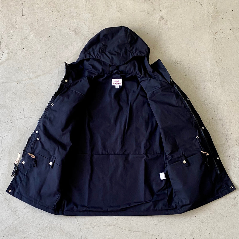 Travel Shell Parka, Black x Black