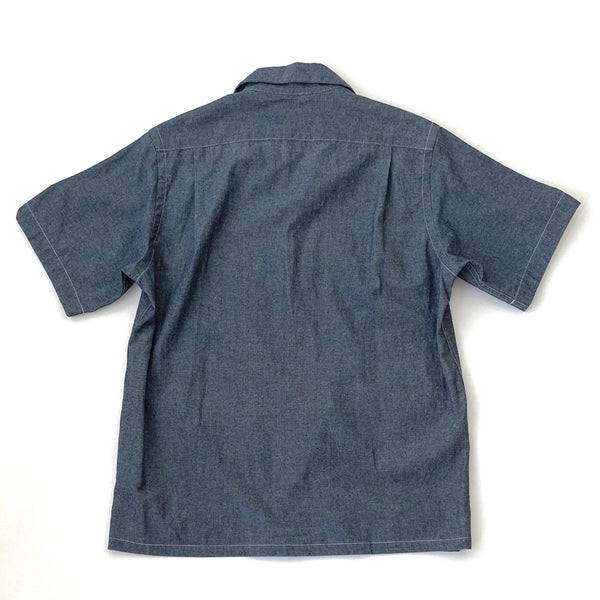 Five Pocket Island Shirt, Chambray Blue
