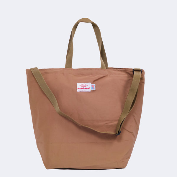 Packable Tote, Khaki 60/40 Cloth