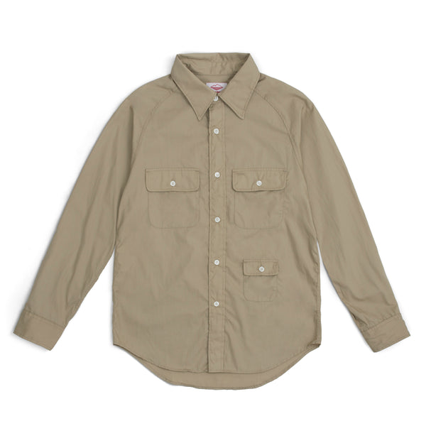 L/S Camp Shirt, Tan