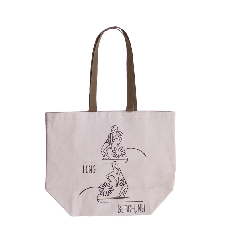 Long Beach Canvas Tote, Natural