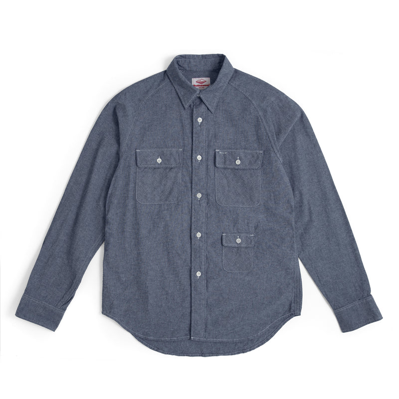 L/S Camp Shirt, Indigo
