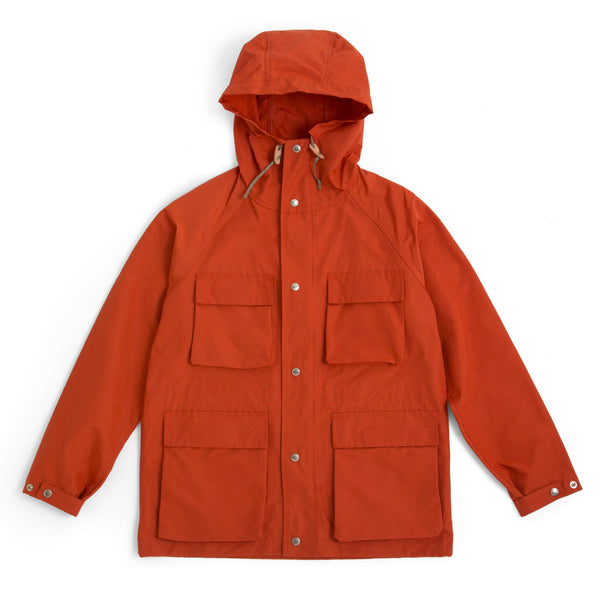 Light Shell Parka, Orange