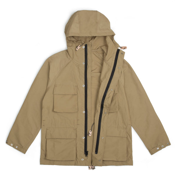 Light Shell Parka, Khaki