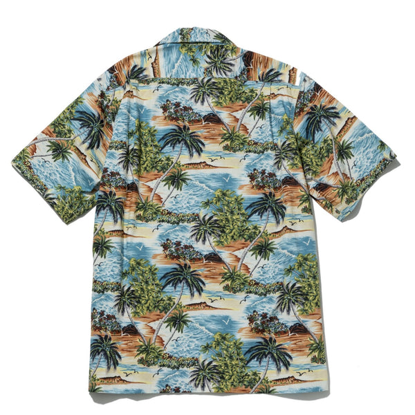 Five Pocket Island Shirt, Island Print