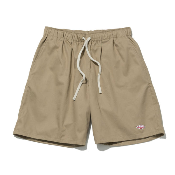 Active Lazy Shorts, Beige Twill