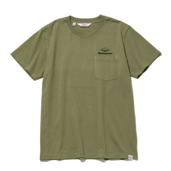 Team S/S Pocket Tee, Olive