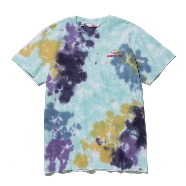 Team S/S Pocket Tee, Tie Dye