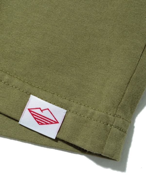 Team L/S Basic Pocket Tee, Olive