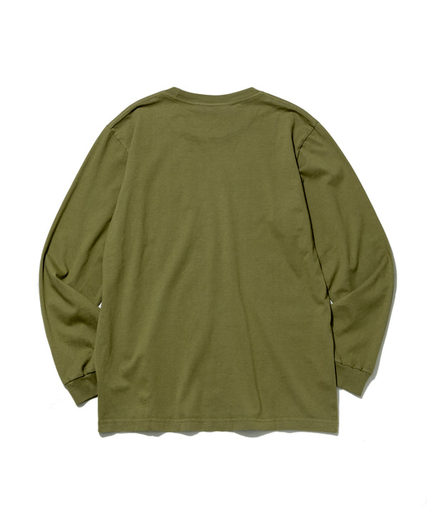 L/S Basic Pocket Tee, Olive
