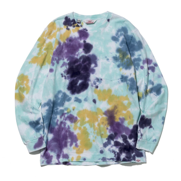 L/S Basic Pocket Tee, Tie Dye