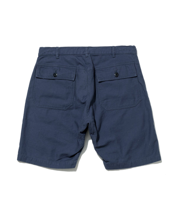 Trek Shorts, Navy Back Sateen