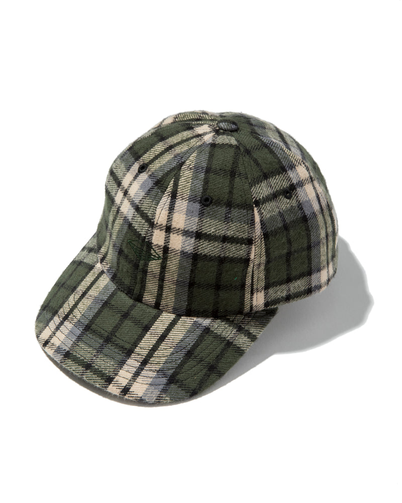Field Cap, Green Plaid