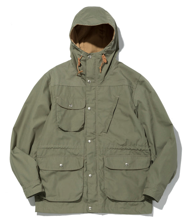 Travel Shell Parka, O.D. Green x Khaki
