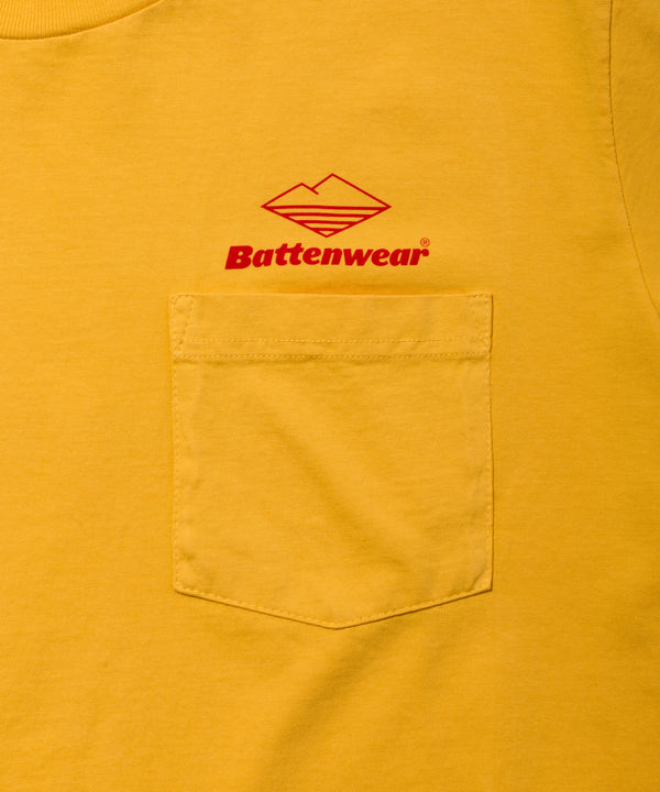 Team S/S Pocket Tee, Mustard