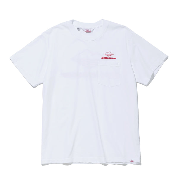 Team S/S Pocket Tee, White