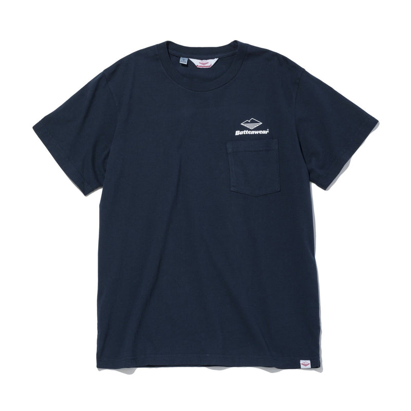 Team S/S Pocket Tee, Navy