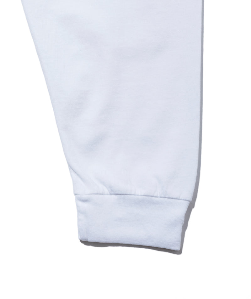 Soggy L/S Pocket Tee, White