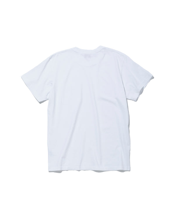 Surf the World S/S Pocket Tee, White