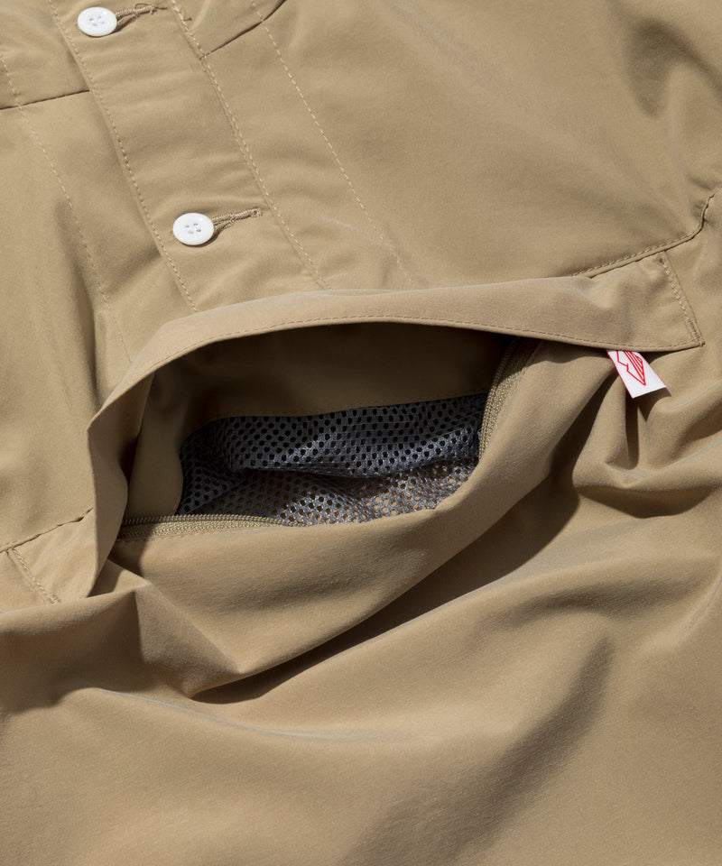 Packable Anorak, Tan
