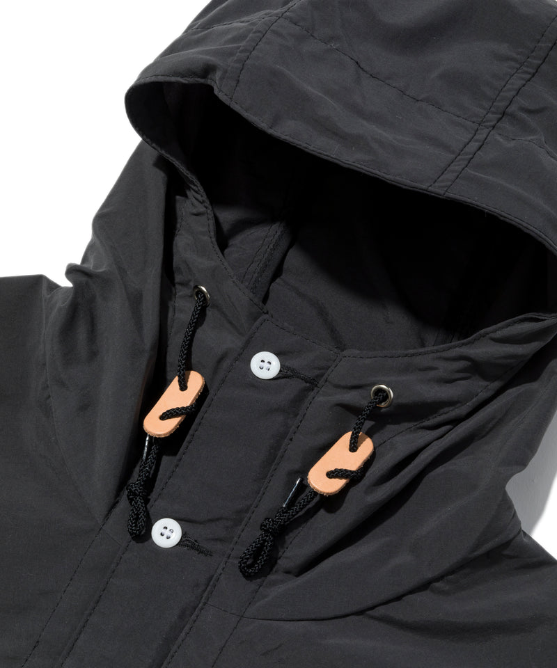 Packable Anorak, Black