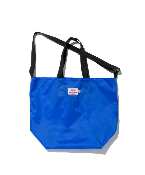 Packable Tote, Royal Blue x Black