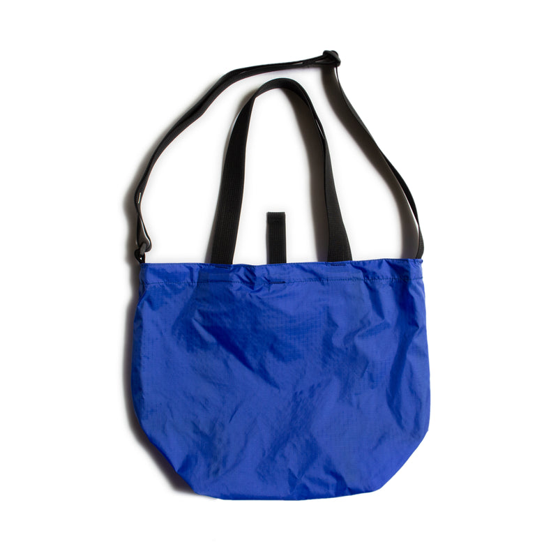 Mini Packable Tote, Royal/Black