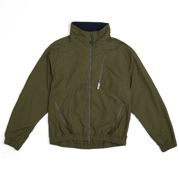 Nylon Jump Jacket, Olive/Navy