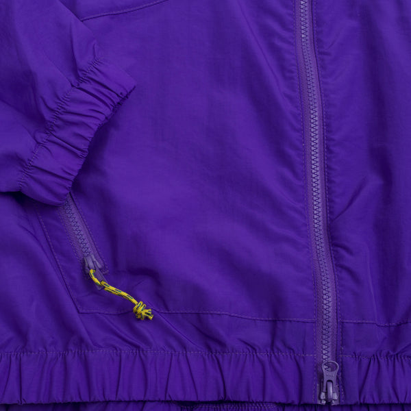 Nylon Jump Jacket (SS19), Purple/Teal