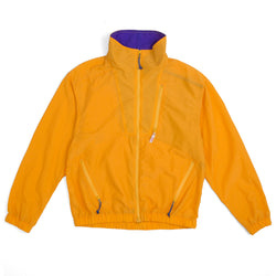 Nylon Jump Jacket (SS19), Mango/Purple