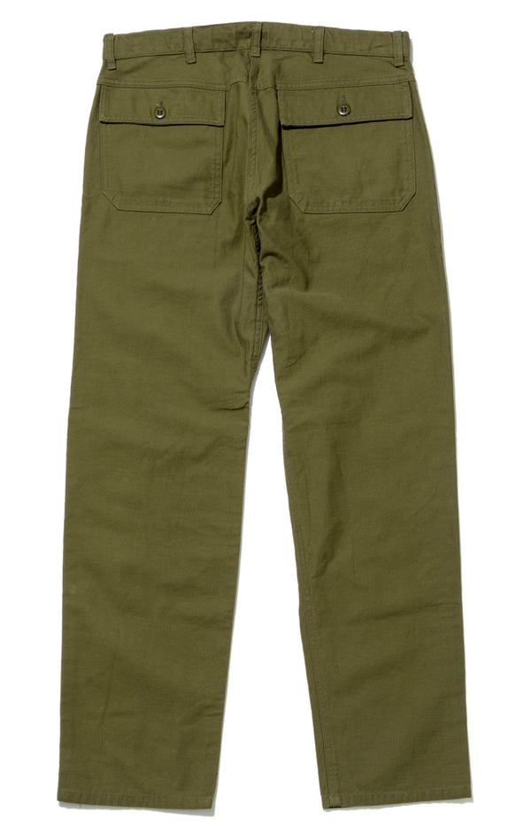 Trek Pants, Olive Back Sateen