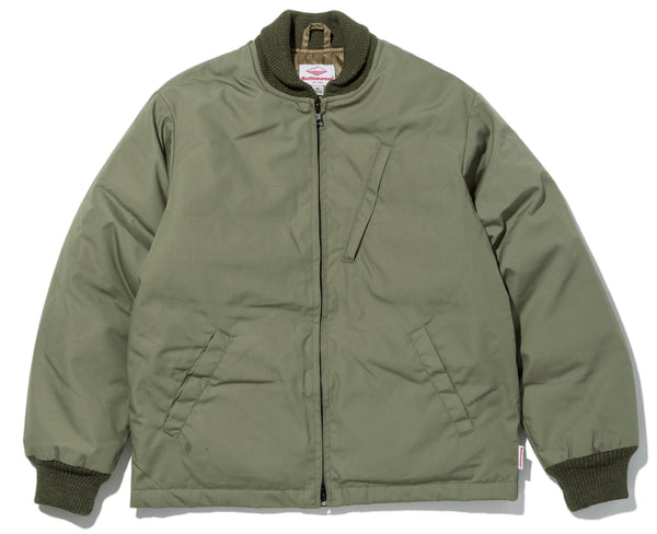 Batten-Down Deck Jacket, O.D. Green