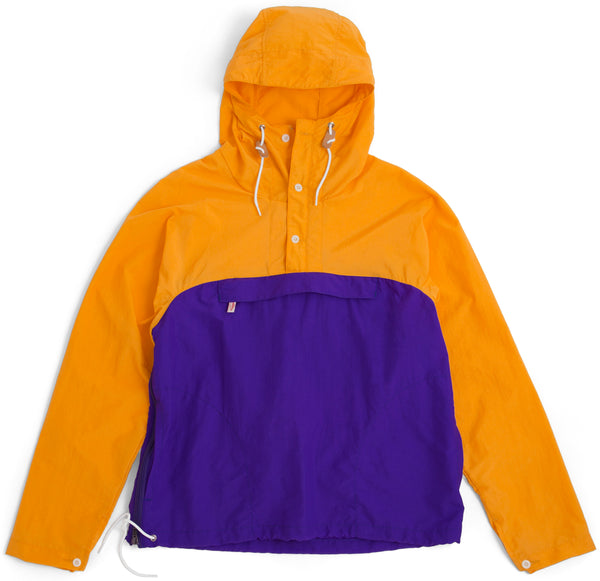 Packable Anorak, Mango/Purple
