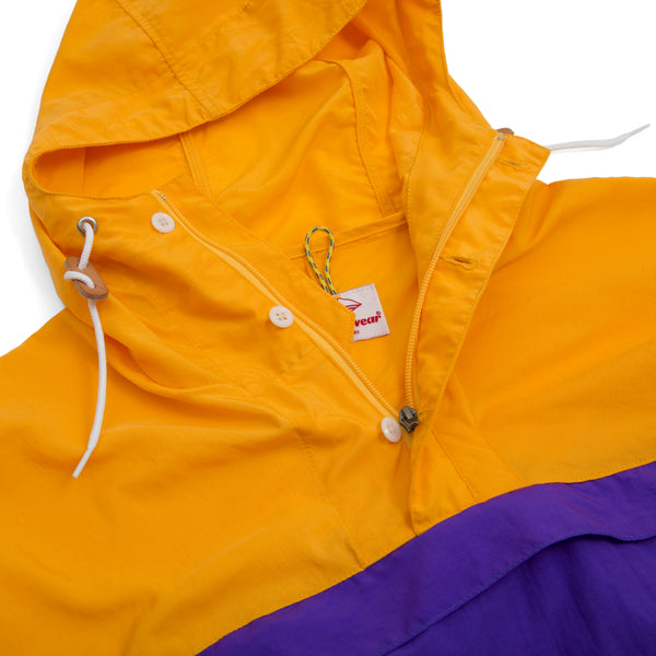 Packable Anorak, Purple/Teal