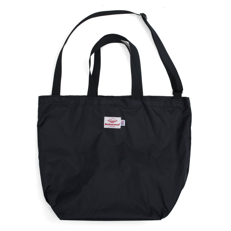 Packable Tote,  Black/Black