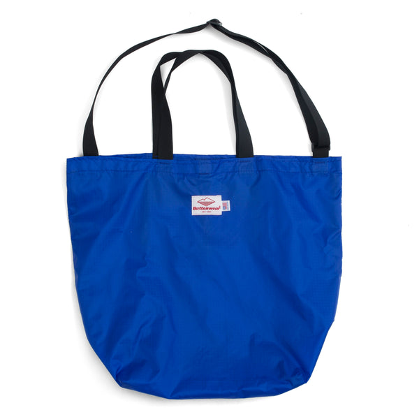 Packable Tote, Royal/Black